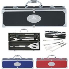 BBQ Set In Aluminum Case