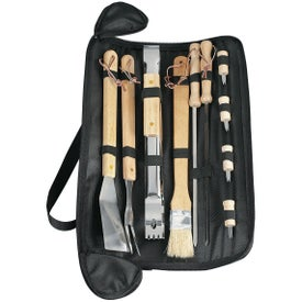 BBQ Set With Carrying Case Printed with Your Logo
