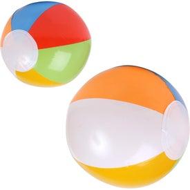 Logo Summer Beach Ball