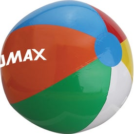 Imprinted Beach Ball for Your Company