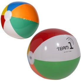 """Imprinted Beach Ball (16"""")"""