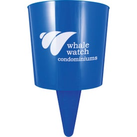 Beach Nik Cup Holder for Advertising