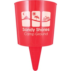 Beach Nik Cup Holder Branded with Your Logo