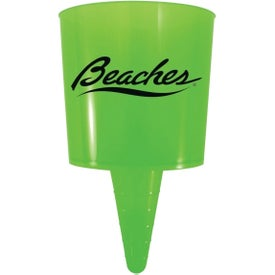 Personalized Beach Nik Cup Holder