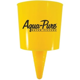 Beach Nik Cup Holder with Your Slogan