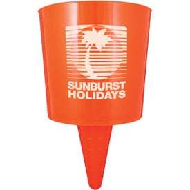 Beach Nik Cup Holder Imprinted with Your Logo