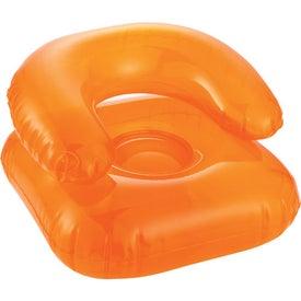 Customized Beach Bum Inflatable Head Chair Pillow