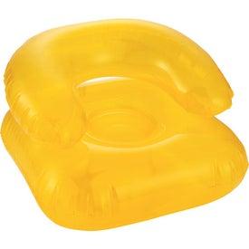 Logo Beach Bum Inflatable Head Chair Pillow