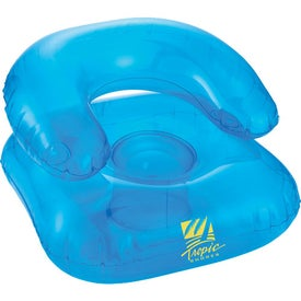 Branded Beach Bum Inflatable Head Chair Pillow