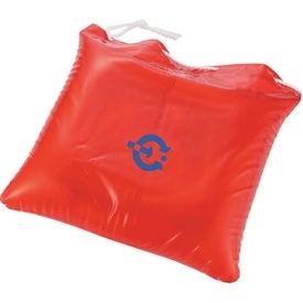 Monogrammed Beach Bum Pillow & Bag