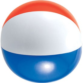 Beachy Beach Ball Printed with Your Logo