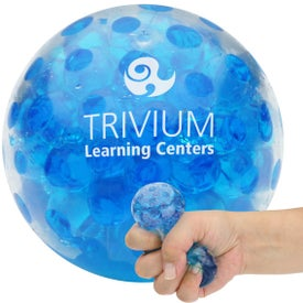 Bead Squeeze Gel Ball Imprinted with Your Logo