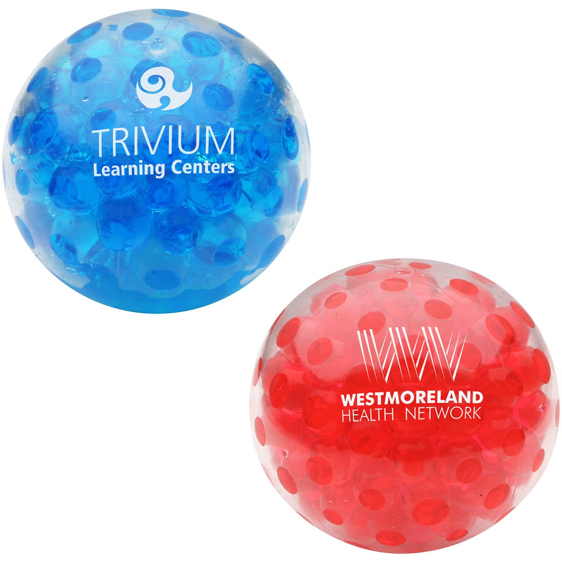 Beads Company Logo: SAVE BIG On Bead Squeeze Gel Balls Printed With Your Logo