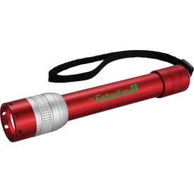 Becker Flashlight with Your Slogan