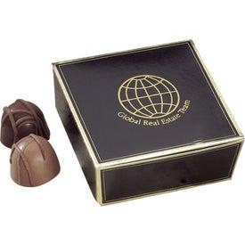 Advertising Beloved Truffles in Ballotin Box