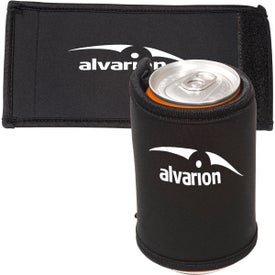 Beverage Wrap - Neoprene with Your Slogan
