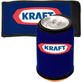 Beverage Wrap - Neoprene Imprinted with Your Logo