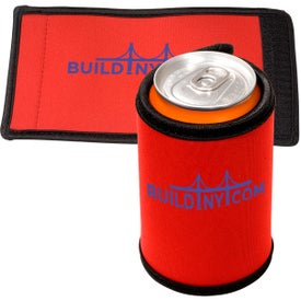 Logo Beverage Wrap - Neoprene