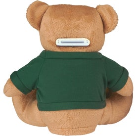 Personalized Big Bucks Plush Bear Bank