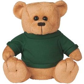 Personalized Big Bucks Plush Bear Bank