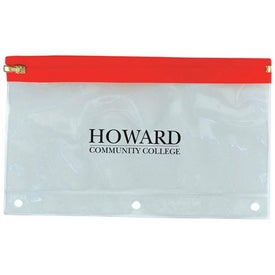 Binder Pencil Pouch for Marketing
