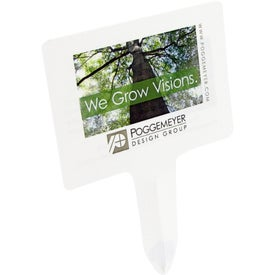 Monogrammed Biodegradable Seed Stake