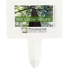 Biodegradable Seed Stake Branded with Your Logo