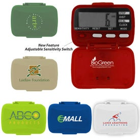 BioGreen Classic Pedometer for Marketing