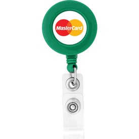 Customized Round Shaped Retractable Badge Holder
