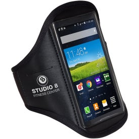 Black Armband Phone Holder