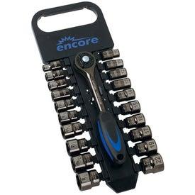 Black Chrome Socket Set (21 Pc)
