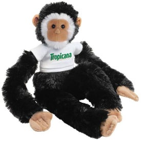 Plush Monkey Manny (Black)