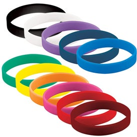 Blank Wristband Branded with Your Logo