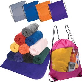 Branded Blanket-Bag Combo