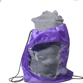 Blanket-Bag Combo Printed with Your Logo