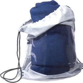 Monogrammed Blanket-Bag Combo