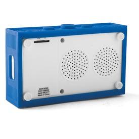 Custom Blasting Brick Speaker