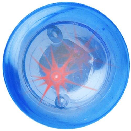 Blue Blinking Ball with Two Red LEDs