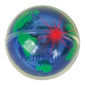 Blinking Globe Ball