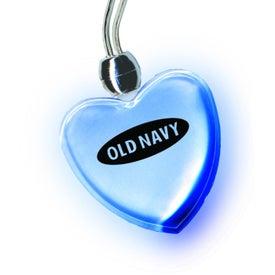 Company Blue Light Pendant Necklace