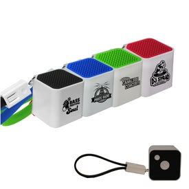 Bluetooth Cube Speaker with Cable