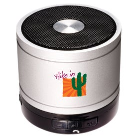 Bluetooth Cylinder Mini Speaker with Your Slogan