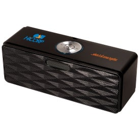 Bluetooth Mini-Boom Speaker FM Radio