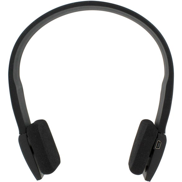 Black Bluetooth Vibe Stereo Headset
