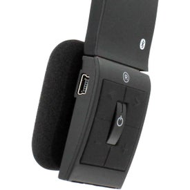 Bluetooth Vibe Stereo Headset Printed with Your Logo
