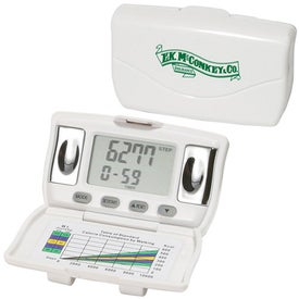 Body Fat and BMI Measurement Pedometer for Your Company