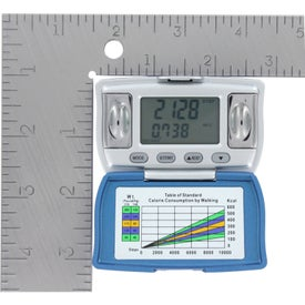 Body Fat and BMI Measurement Pedometer with Your Logo
