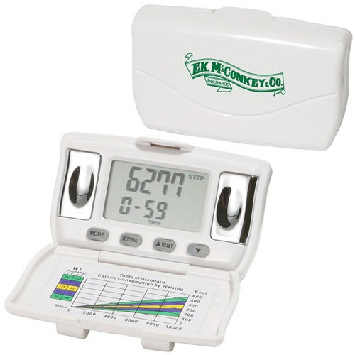 Body Fat and BMI Measurement Pedometer