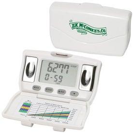 Body Fat and BMI Measurement Pedometer