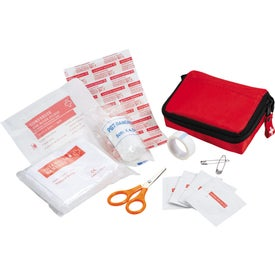 Branded Bolt 20 Piece First Aid Kit